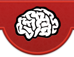 This image is the bulge which contains the Mindgrub Logo; The Brain.