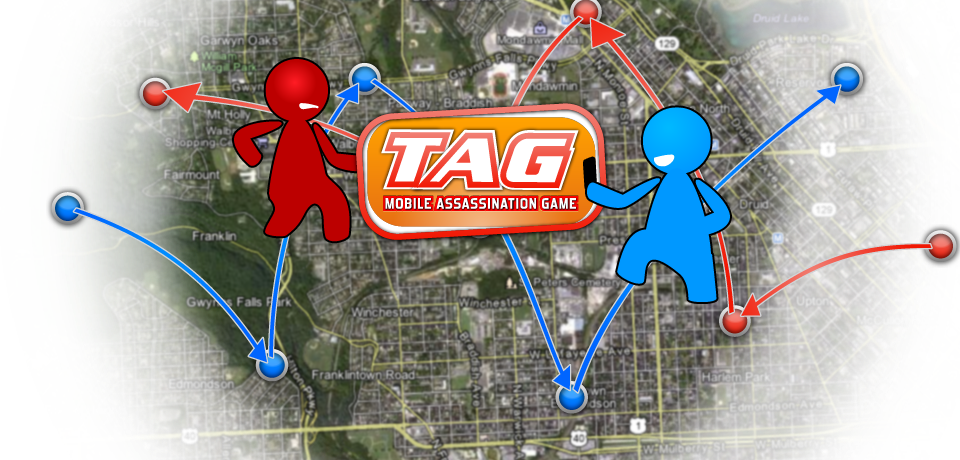 TAG! The Mobile Assassination Game!